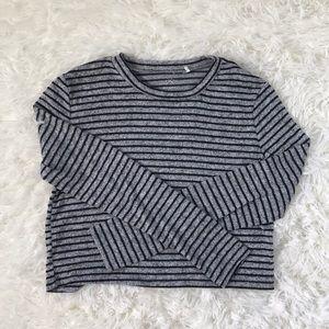 Pacsun Long Sleeve Crop Top